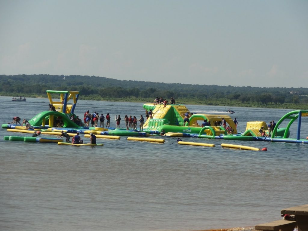 Tulsa Splash Parks – Water Fun! at Keystone Lake RV park Mannford OK